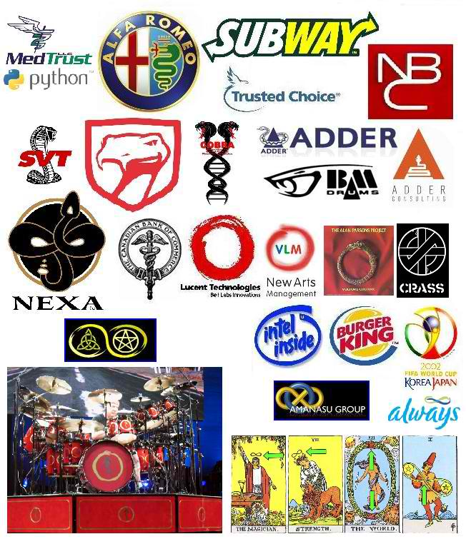 Wisdom Of A Fool Corporate Logos Occult Connections