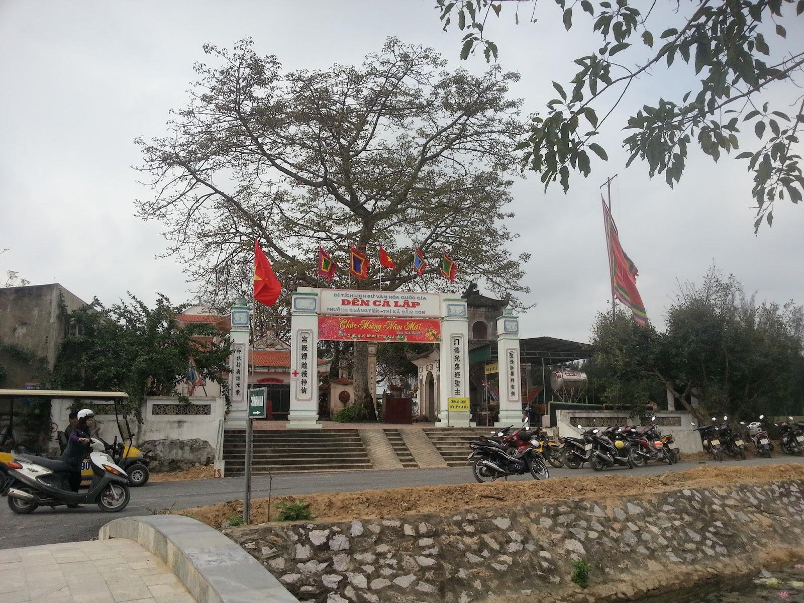 Đền Cá Lập (Thanh Hóa, Sầm Sơn)