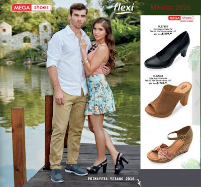 catalogo mega shoes flexi pv 2016