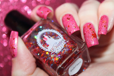 "Swatch of the nail polish ""TenderHeart"" from Enchanted Polish"