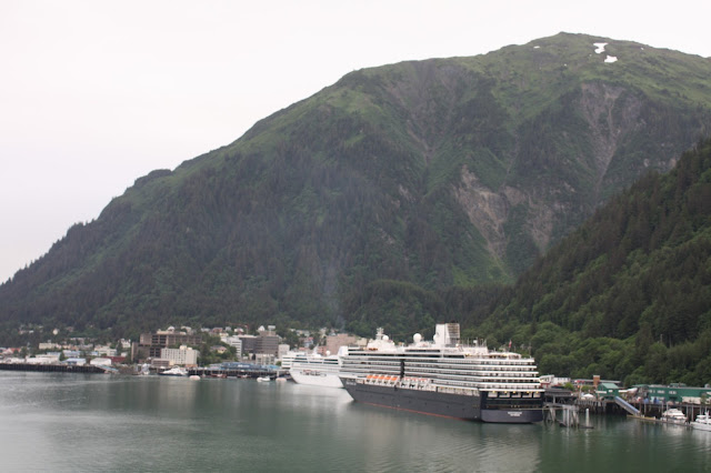 Cruise docking in Juneau, Alaska