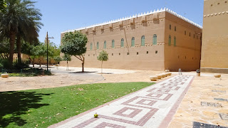 Murabba Historical Palace is the name of the building