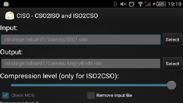 Cara Mengubah File ISO Menjadi CSO Di Android Dan PC Windows