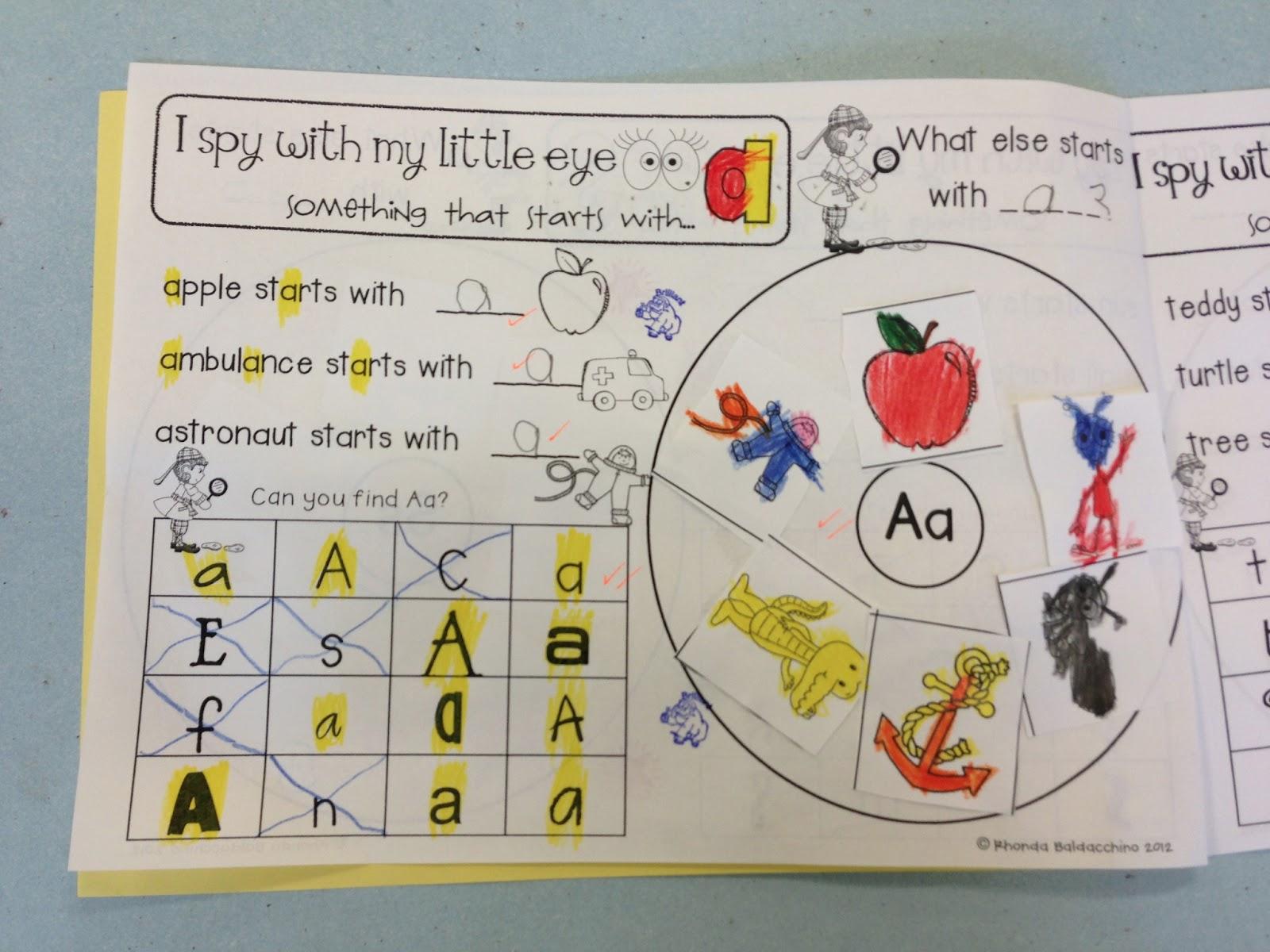 Classroom Fun I Spy With My Little Eye