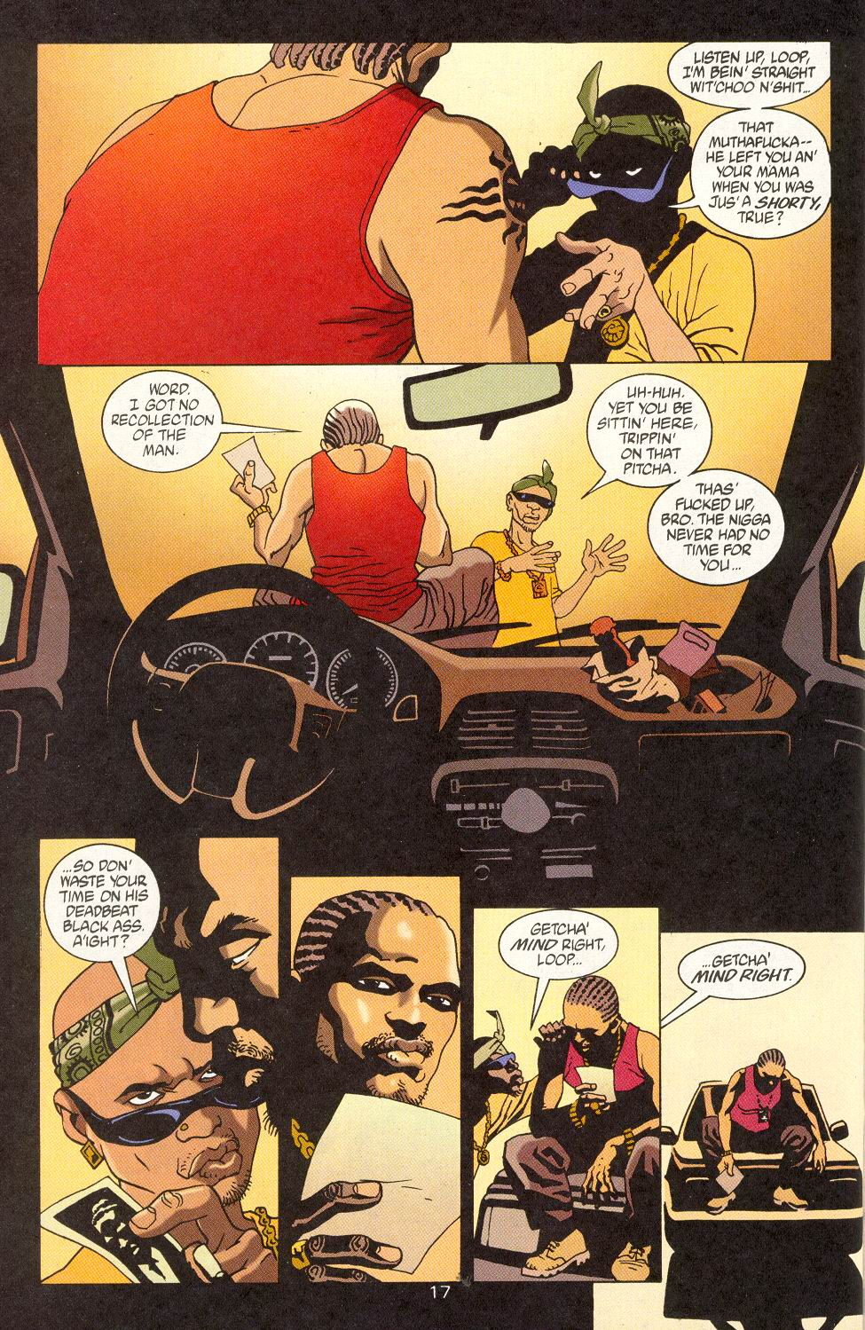 Read online 100 Bullets comic -  Issue #15 - 19