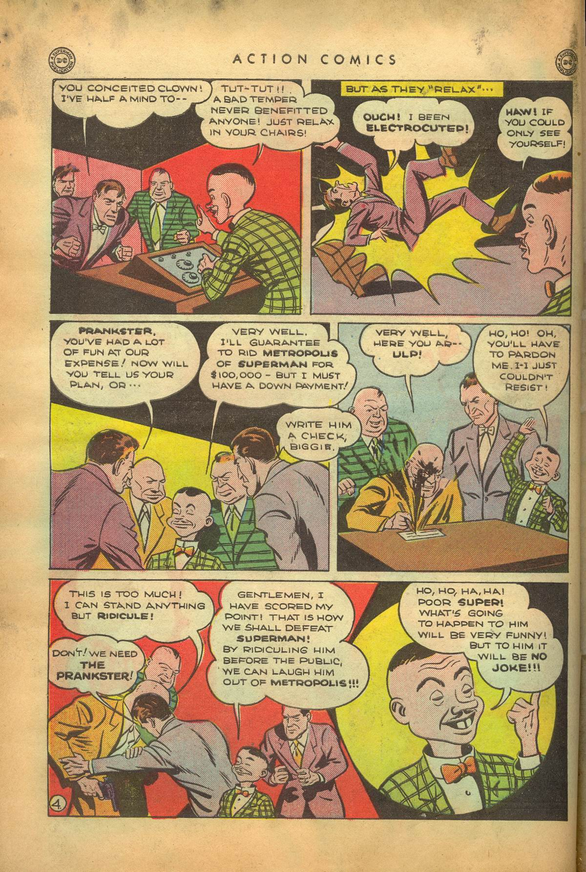 Read online Action Comics (1938) comic -  Issue #95 - 7