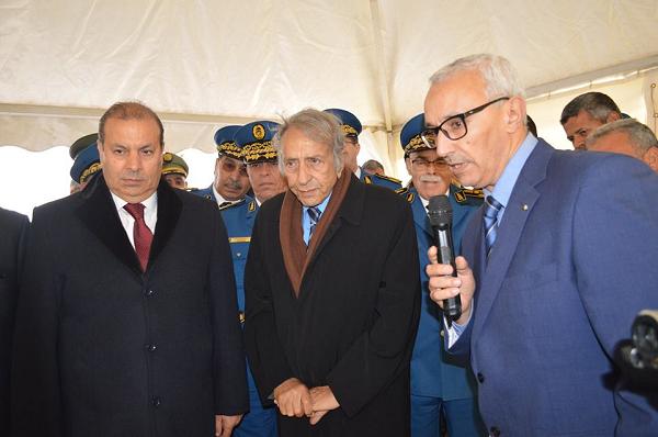 من الشلف : المدير العام للأمن الوطني يرافع لتطبيق قوانين الجمهورية وإحترتم حقوق الإنسان