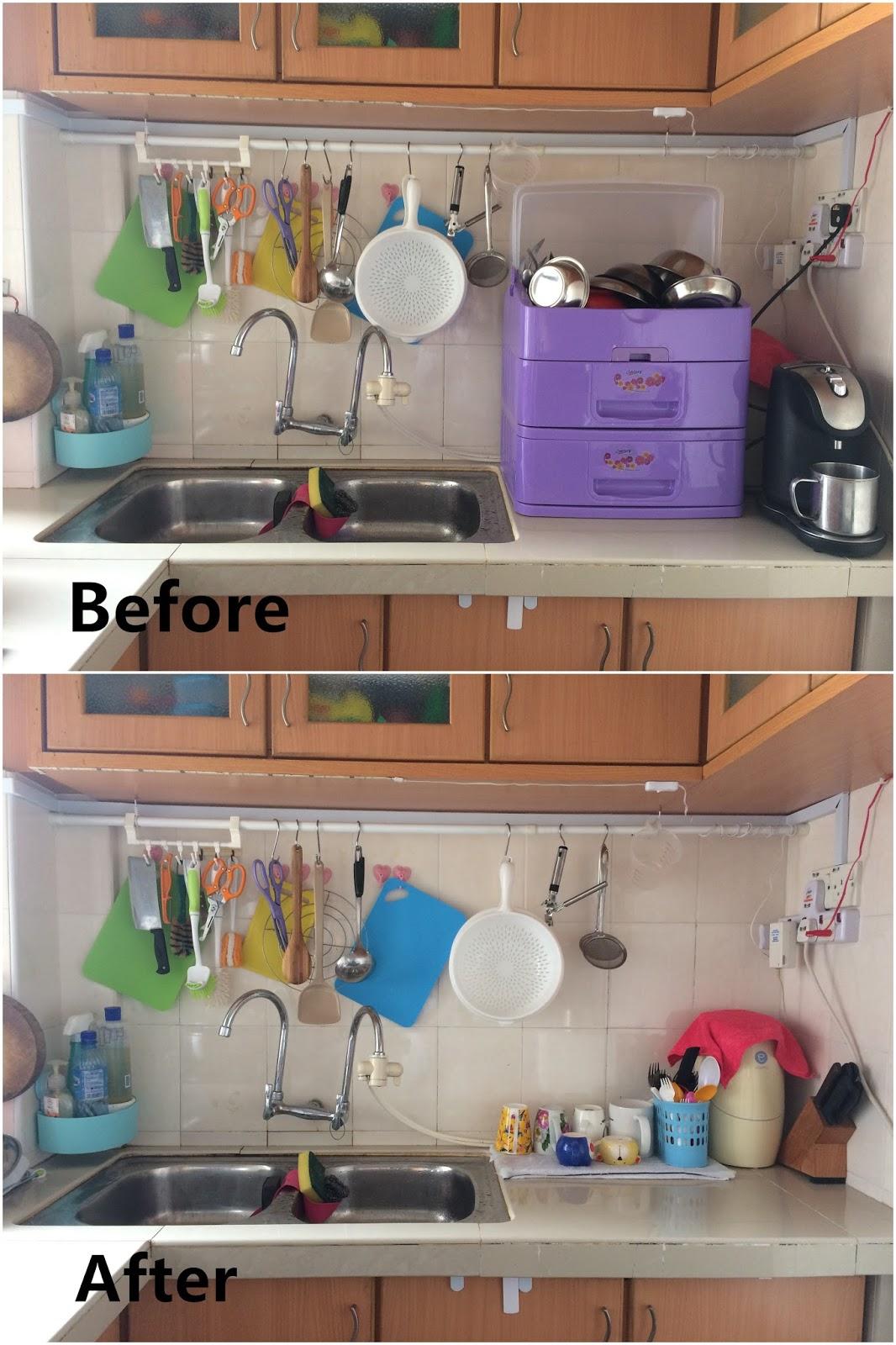 speed racks for kitchen small recycling bins 吉事多整理justdo organize 厨房整理 果敢丢弃晾碗架 整理感想 第一次果敢舍弃家家户户必备的晾碗架 不管用什么碗架 清洁是必要的 偏偏主人家就很懒惰清洗 这样做反而让他们方便清洗 虽然厨房仍然小 但是让一两个人