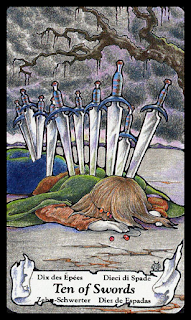 ten of swords, tarot hanson roberts
