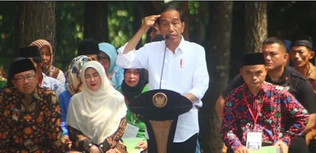 Jokowi: BBM Naik 500 Perak Demo Bisa Empat Bulan