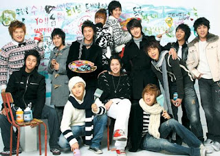 Foto de los integrantes de Super Junior