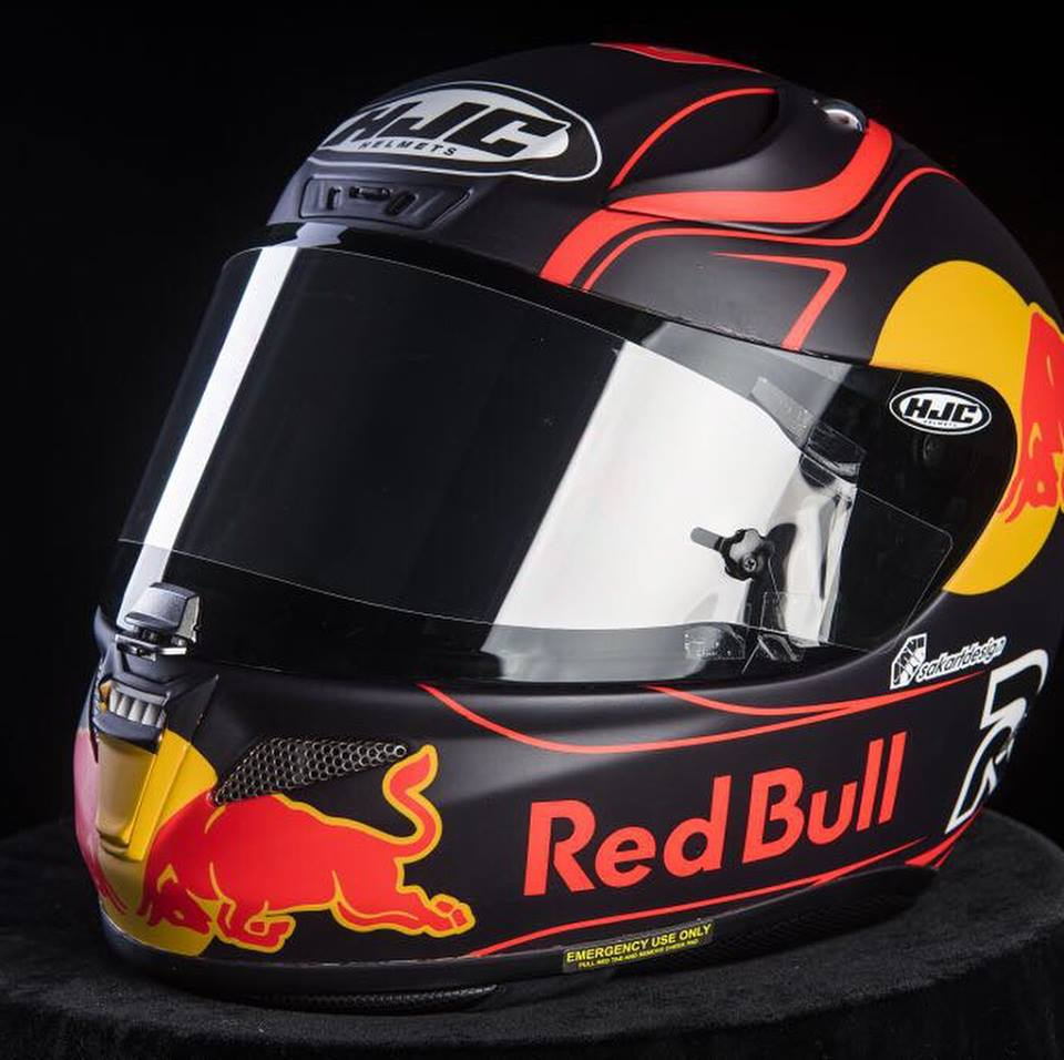 racing helmets garage hjc r pha11 m kallio 2018 by sak. Black Bedroom Furniture Sets. Home Design Ideas