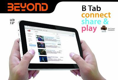 Beyond B Tab1, Tablet Murah Fitur Lengkap