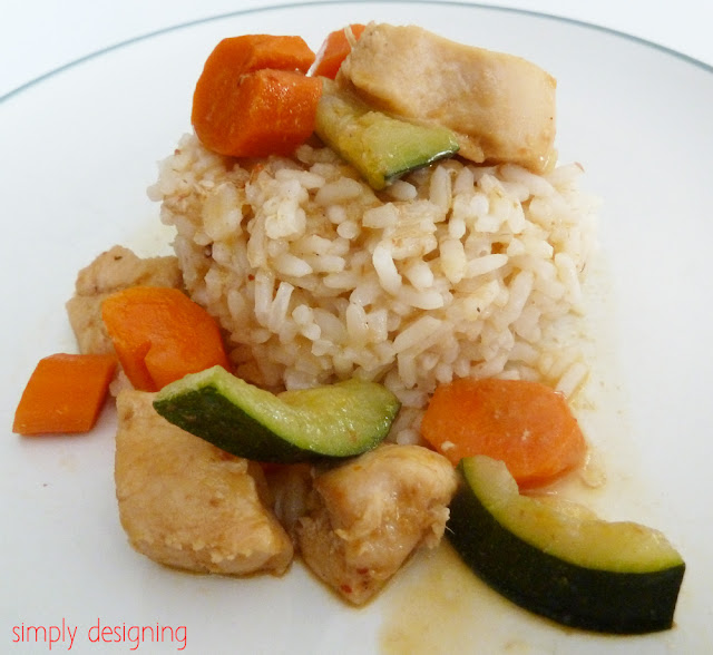 Chicken Curry Recipe with Rice #recipe #thai #curry #dinner #successrice #ad