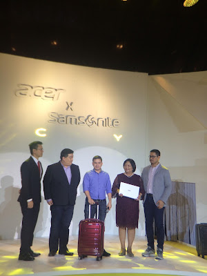 Acer Philippines partners with Samsonite to encourage Millennials to #CarryOn for its Back-to-School Promo