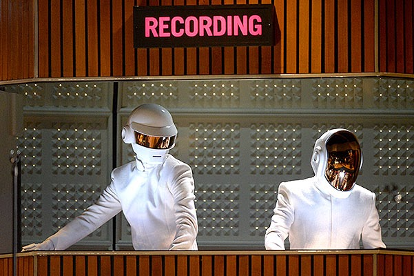 Speech by Daft Punk Grammy Awards 2014