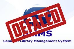 Deface - SLiMS Arbitrary File Uploads Vulnerability