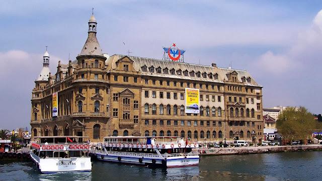 Haydarpaşa Terminal, Istanbul, Turkey