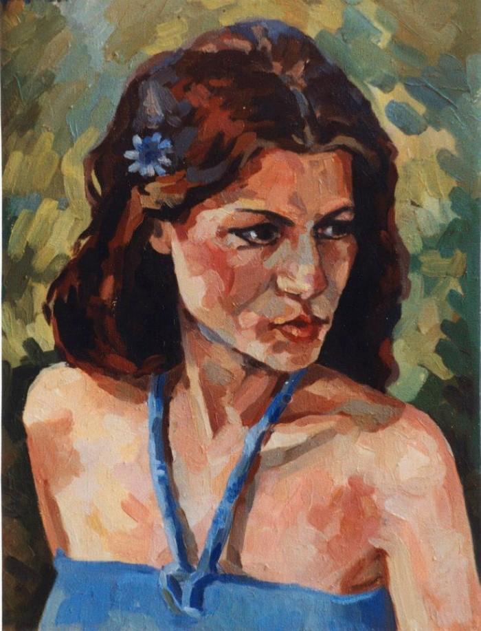 Украинский художник. Екатерина Борцова