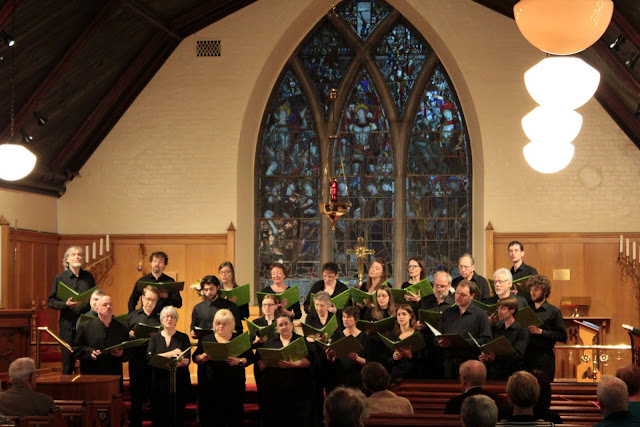 St. Bart's welcomed us with cozy ambience and an appreciative audience