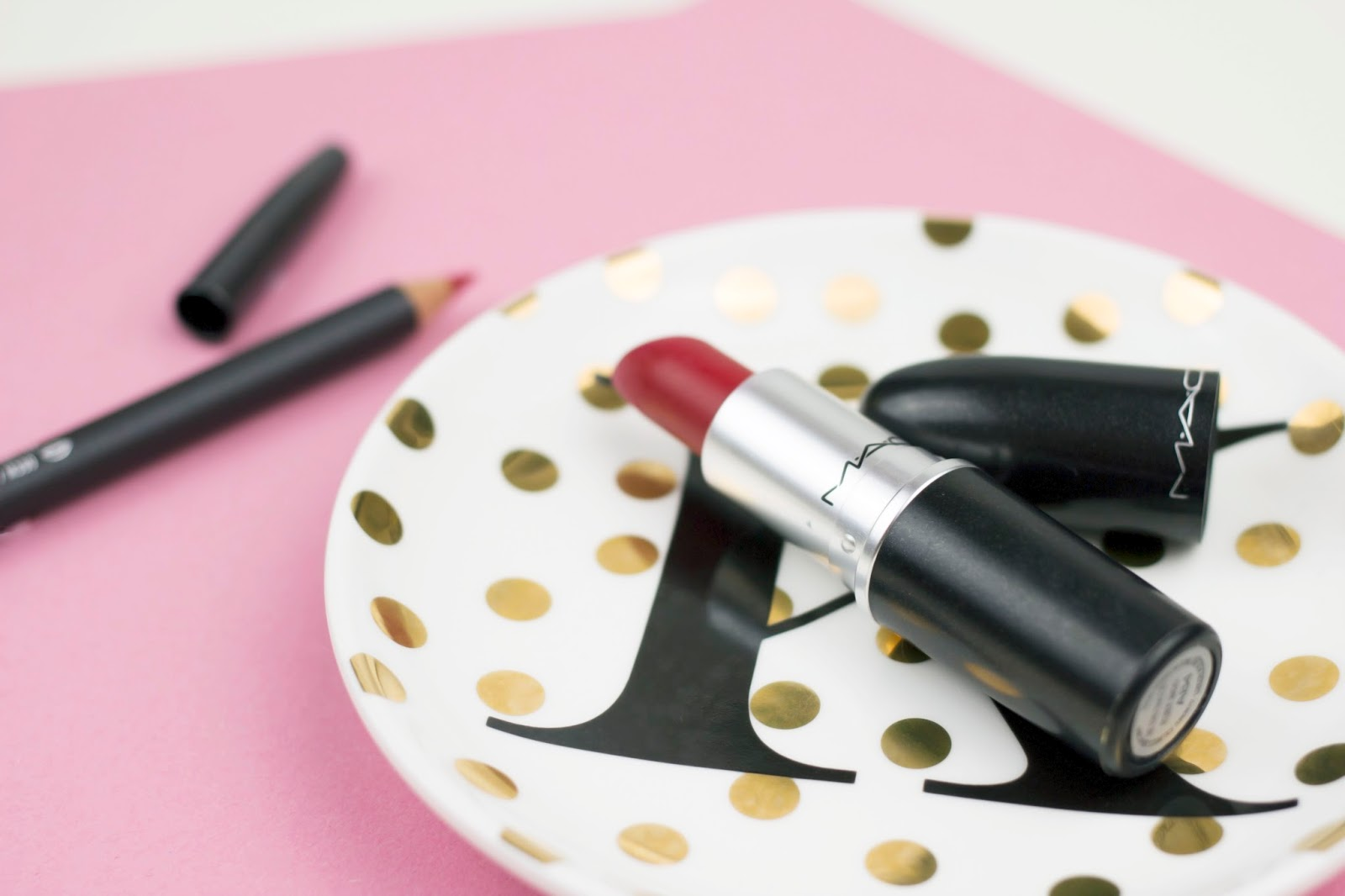 Red Lipstick, MAC Ruby Woo, Bold Red Lip, Katie Writes,