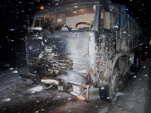 В Краснокамском районе Chevrolet Niva столкнулся со встречным КамАЗом