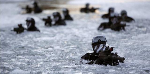 HEBAT!! Kopassus kalahkan pasukan komando Korea Selatan di medan bersalju