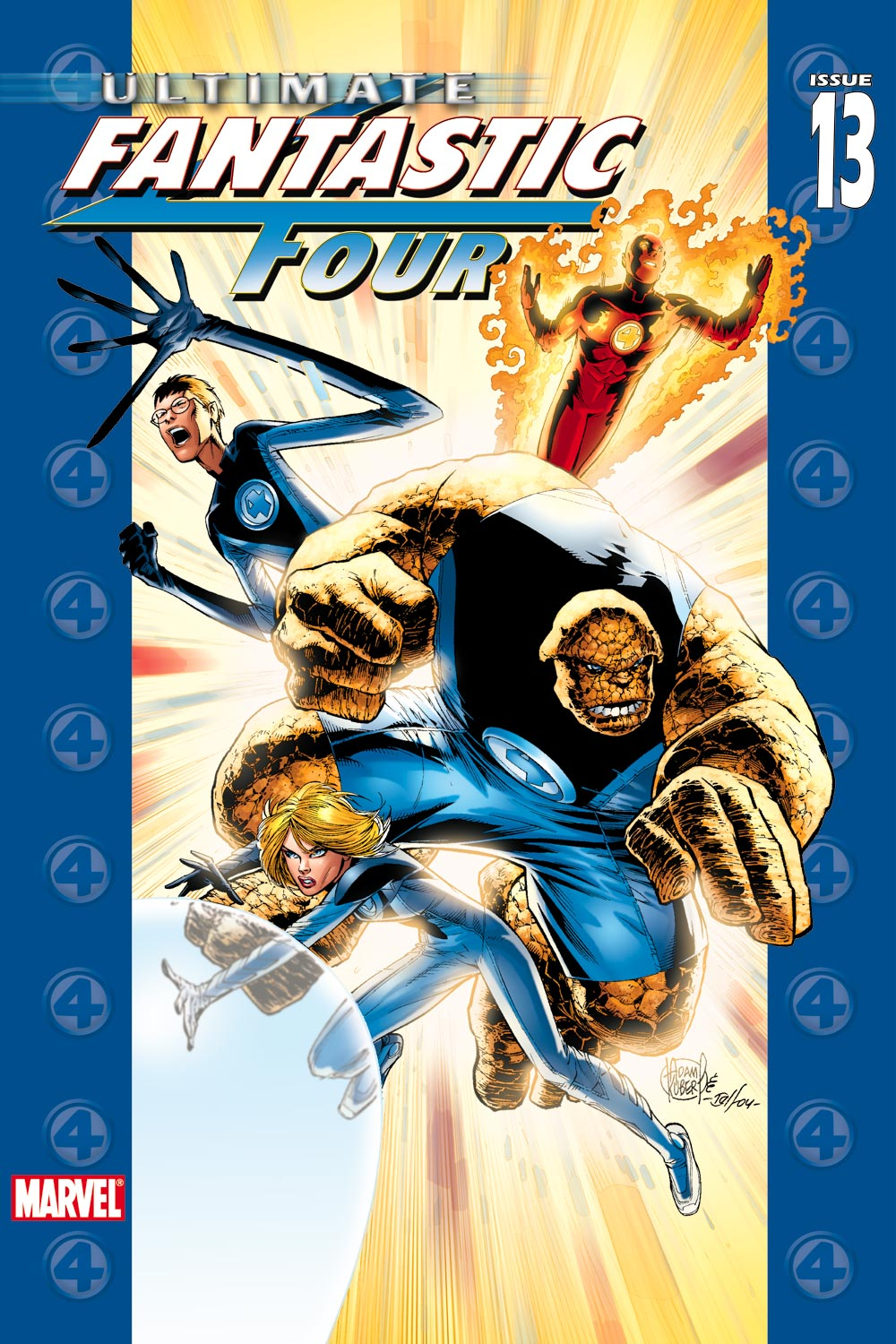 Read online Ultimate Fantastic Four (2004) comic -  Issue #13 - 1