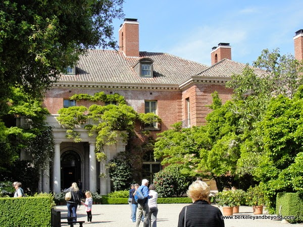 mansion at Filoli in Woodside, California