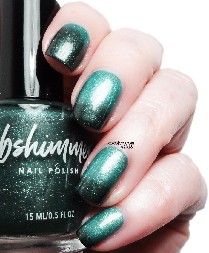 xoxoJen's swatch of KBShimmer for Polish Pick Up: The One Soul