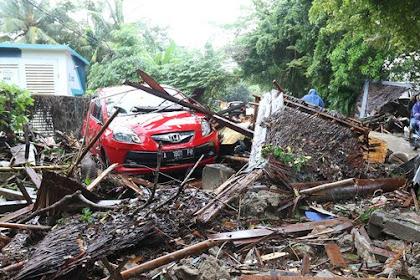 Amat Mendesak, Korban Tsunami Banten dan Lampung Butuh Ini