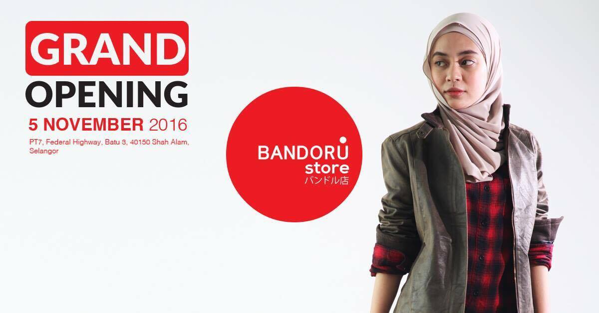 Grand Opening Bandoru Store Contest