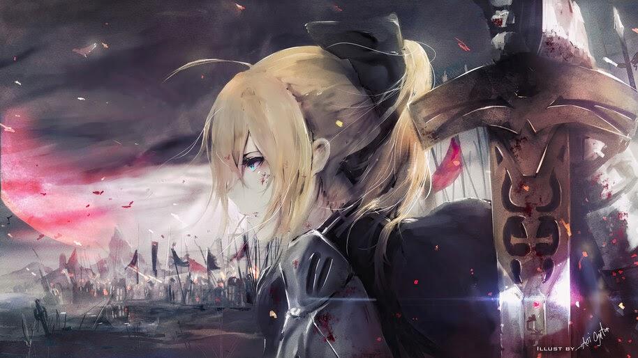 Saber, Artoria Pendragon, Fate/Grand Order, 4K, #6.2293