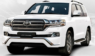 Harga Pontianak Toyota Land Cruiser Super White