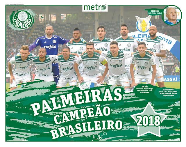 Wallpapers Palmeiras Campeão Brasileiro 2018