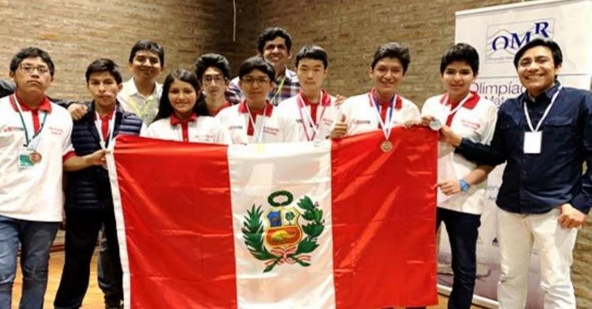 Perú se corona campeón en Olimpiada Matemática Rioplatense (OMR) 2018 - Argentina