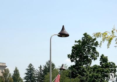 Hershey's Kiss Street Lights in Hershey Pennsylvania