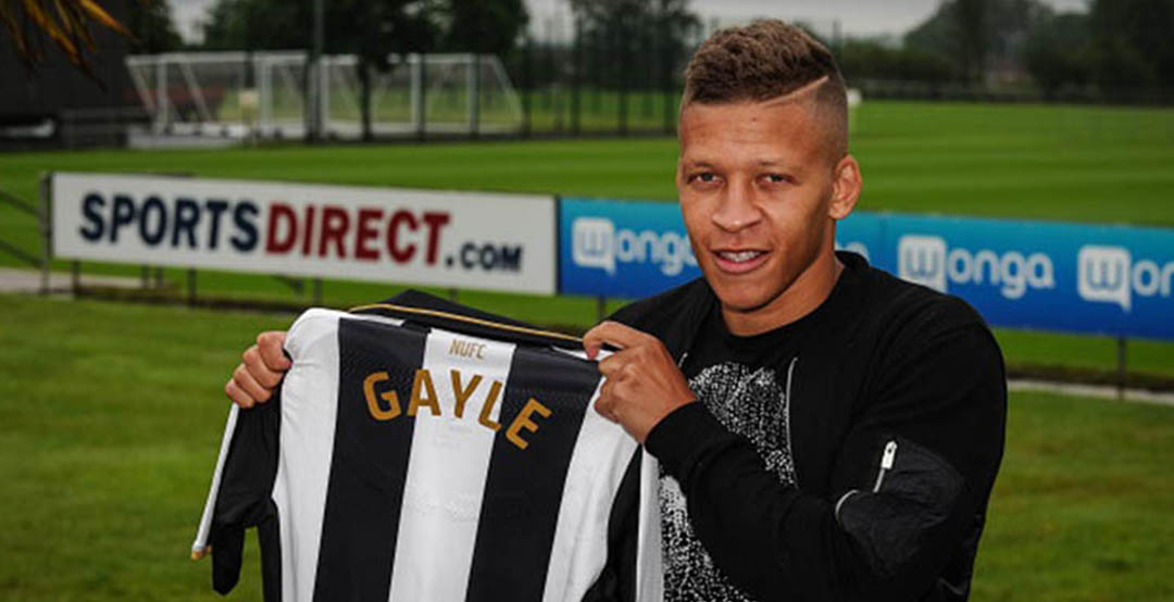 ad11efeec The Newcastle United 16-17 kit has been revealed by new signing Dwight  Gayle from Crystal Palace this morning.