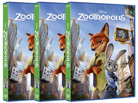 Concurso 'Zootrópolis': Tenemos DVDs de la película para vosotros