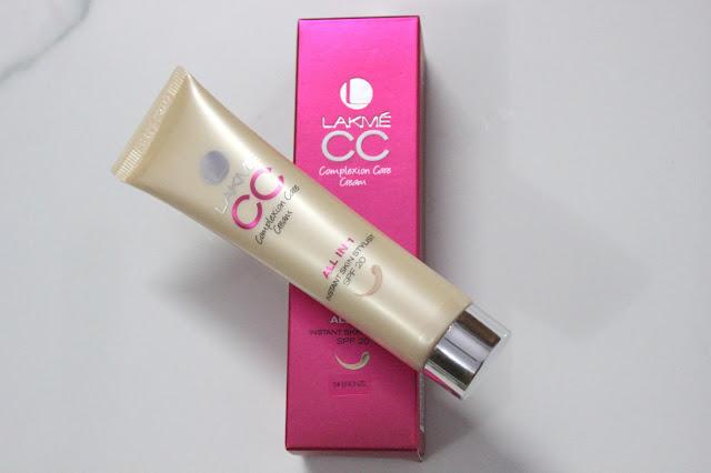 Lakme CC Complexion Care Cream in Bronze