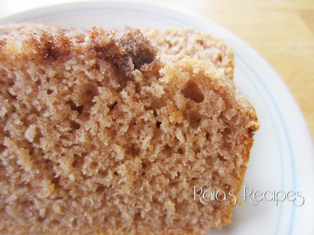 Cinnamon Buttermilk Quick Bread | Free of gluten and eggs, with dairy free option | www.RaiasRecipes.com
