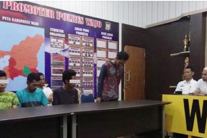 Lecehkan Gerakan Salat Tarawih, Tujuh Pemuda Ini Diamankan, Akhirnya Minta Maaf