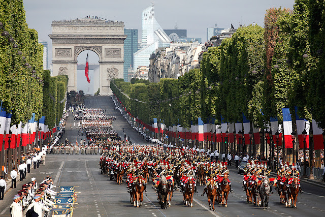 Bastille day Military Parade 2017