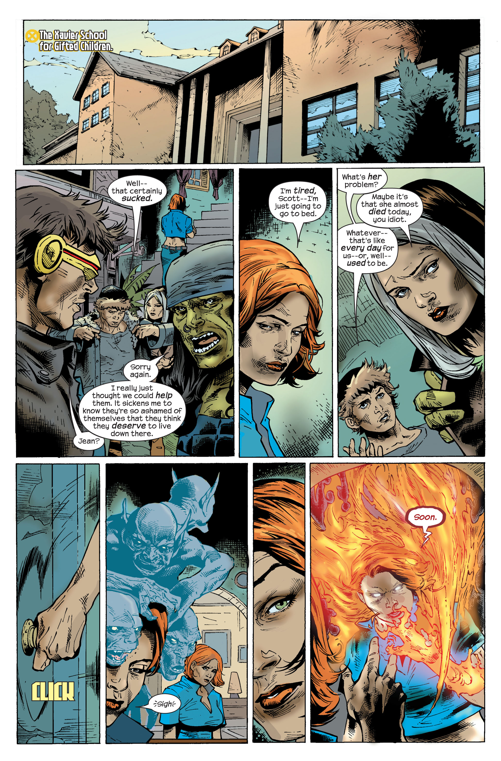 Read online Ultimate X-Men comic -  Issue #83 - 19