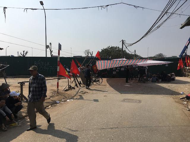 Một vụ cướp đường phân lô biệt thự trắng trợn ở Hà Nội