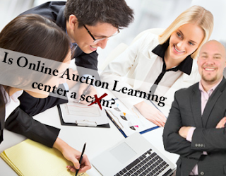 Is online auction learning center a SCAM? The Truth you've been waiting for