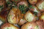 NEW RED POTATOES WITH PARSLEY