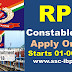RPF Constable Apply Online Selection Process Important Dates