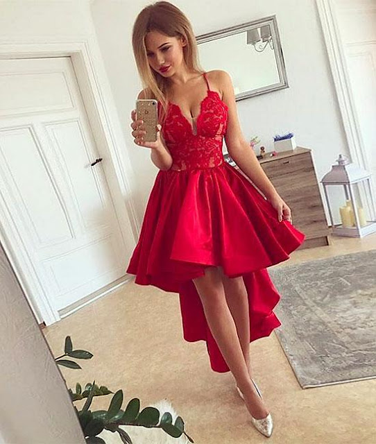 https://www.sassymyprom.com/collections/red-homecoming-1/products/red-v-neck-lace-high-low-prom-homecoming-dress