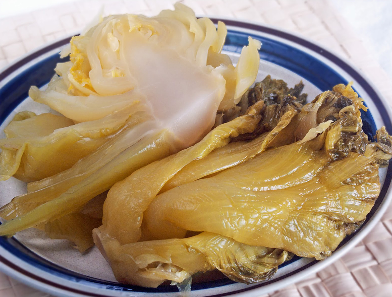 Salted and Sour Mustard Greens